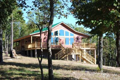 3 BR/2 BA Custom Cabin Built In 2013
