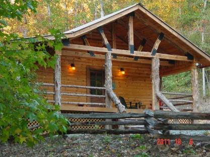 Joey Burch New Listing Creek Cabin Gated Cabin
